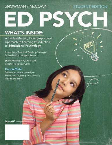 Ed Psych (with Education Coursemate with eBook Printed Access Card) 9781111841935