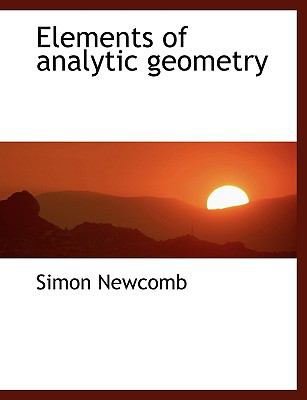 Elements of Analytic Geometry 9781115724234