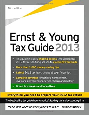 Ernst & Young Tax Guide 2013 9781118466674