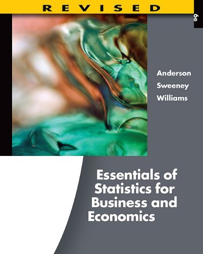 Essentials of Statistics for Business and Economics [With Access Code] 9781111533847