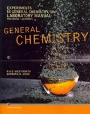 Experiments in General Chemistry 9781111989422