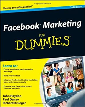 Facebook Marketing for Dummies 9781118107409