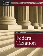Federal Taxation 2012 (with H&r Block at Home Tax Preparation Software CD-ROM, Cpaexcel 2012 Printed Access Card) 12725077