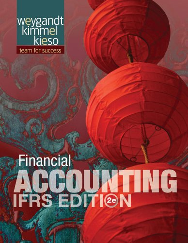 Financial Accounting, Ifrs Edition 9781118285909