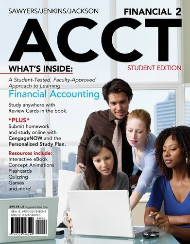 Financial Acct 2 [With Access Code] 9781111530761
