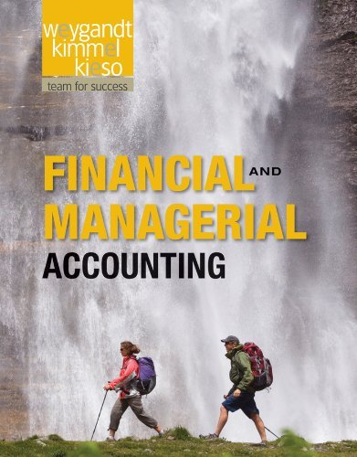 Financial and Managerial Accounting 9781118004234