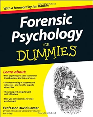 Forensic Psychology for Dummies 9781119976240