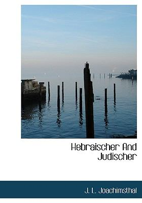 Hebraischer and Judischer 9781117797397