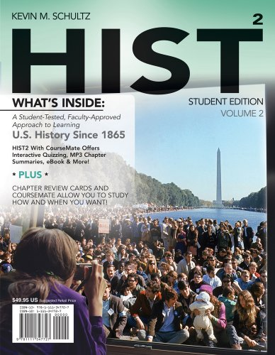 Hist: Volume 2 (with History Coursemate with eBook Printed Access Card) 9781111347727