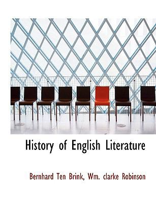 History of English Literature 9781116441147