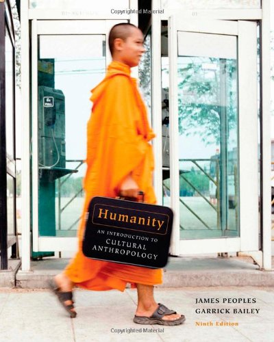 Humanity: An Introduction to Cultural Anthropology 9781111301521