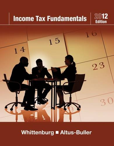Income Tax Fundamentals [With CDROM] 9781111529192
