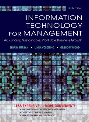 Information Technology for Management, Respondus Testbank: Reinventing the Organization 9781118453247