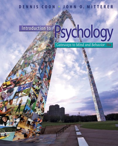 Introduction to Psychology: Gateways to Mind and Behavior with Concept Maps and Reviews 9781111833633