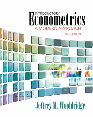 Introductory Econometrics: A Modern Approach 9781111531041