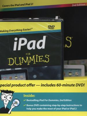 iPad for Dummies [With DVD] 9781118029428