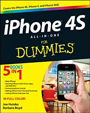 Iphone 4s All-In-One for Dummies 9781118101193