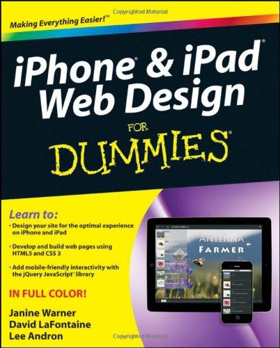 Iphone & Ipad Web Design for Dummies 9781118006436