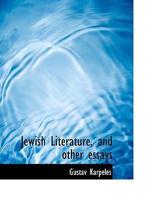 Jewish Literature, and Other Essays 9781116149128