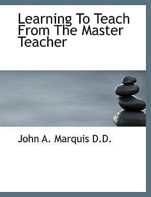 Learning to Teach from the Master Teacher