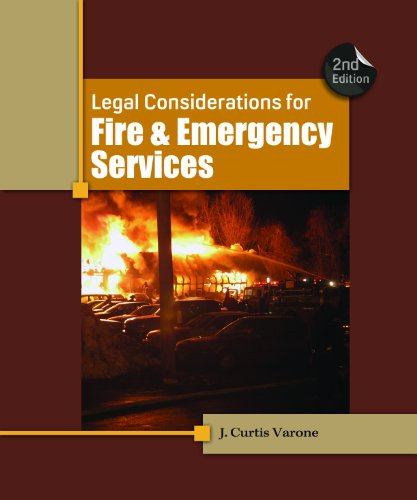 Legal Considerations for Fire and Emergency Services 9781111308803