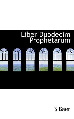 Liber Duodecim Prophetarum 9781117431536