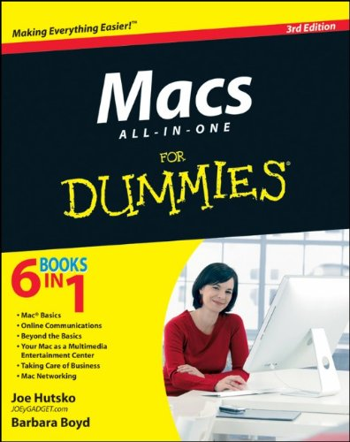 Macs All-In-One for Dummies 9781118129616