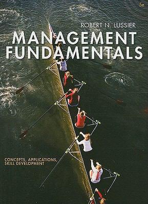 Management Fundamentals: Concepts, Applications, Skill Development 9781111577520