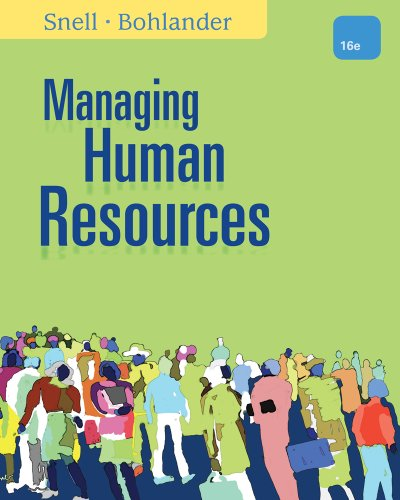 Managing Human Resources 9781111532826