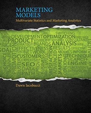 Marketing Models 9781111525842