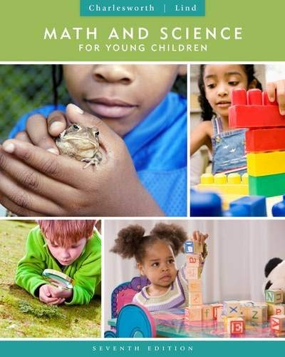 Math and Science for Young Children 9781111833398