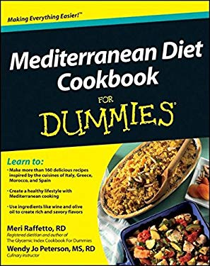 Mediterranean Diet Cookbook for Dummies 9781118067789