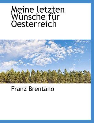 Meine Letzten W Nsche F R Oesterreich 9781116649284