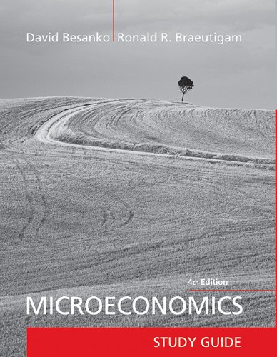 Microeconomics Study Guide 9781118027059