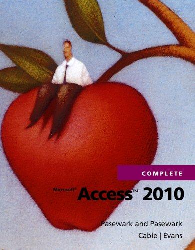 Microsoft Access 2010 Complete 9781111529901