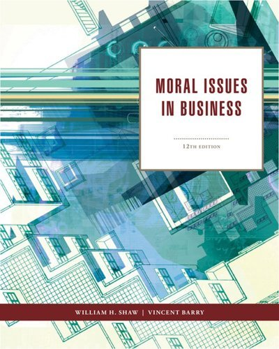 Moral Issues in Business 9781111837426