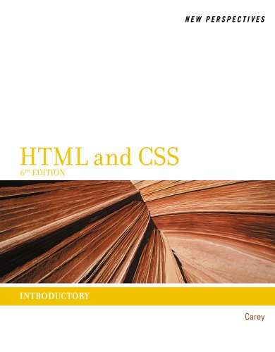 New Perspectives on HTML and CSS: Introductory 9781111526481