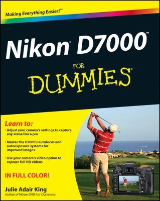 Nikon D7000 for Dummies 9781118012024