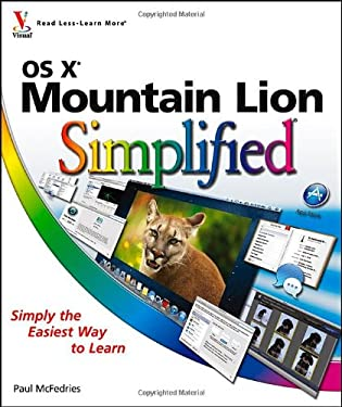 OS X Mountain Lion Simplified 9781118401415