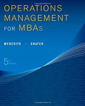 Operations Management for MBAs 9781118369975
