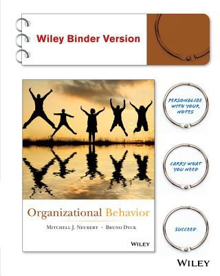 Organizational Behavior 9781118153338