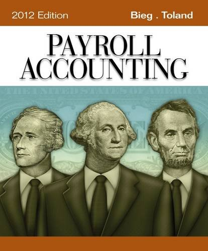 Payroll Accounting 9781111970994