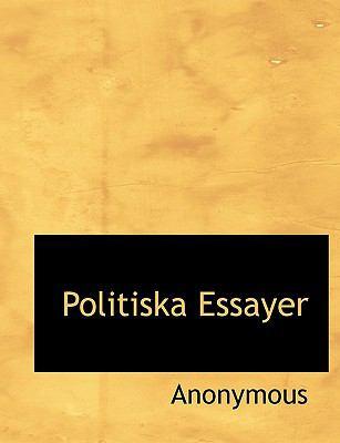 Politiska Essayer 9781116420043