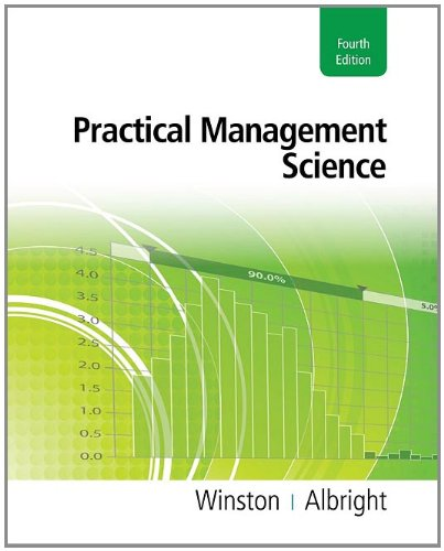 Practical Management Science [With Access Code] 9781111531317