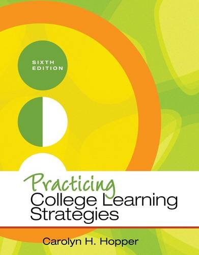 Practicing College Learning Strategies 9781111833350