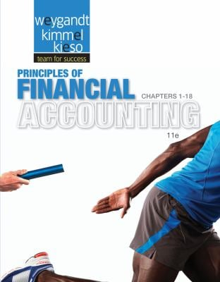Principles of Financial Accounting Chapters 1-18, Eleventh Edition 9781118342084