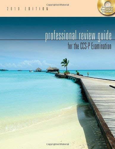 Professional Review Guide for the CCS-P Examination [With CDROM] 9781111127978