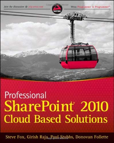Professional Sharepoint 2010 Cloud-Based Solutions