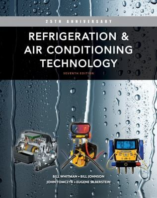Refrigeration and Air Conditioning Technology 9781111644475