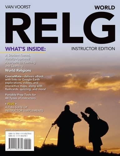 Relg: World (with Religion Coursemate with eBook Printed Access Card) 9781111726201